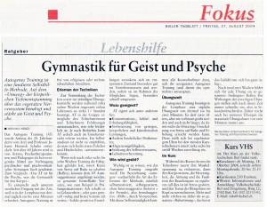 Bieler Tagblatt vom 27.08.04